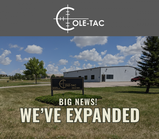 Cole-TAC has announced a new expansion to a second manufacturing location.