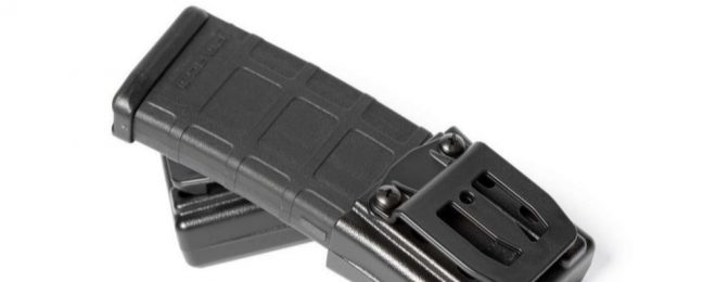 Raven Concealment Systems introduces their Lictor AR/M4 magazine carriers.