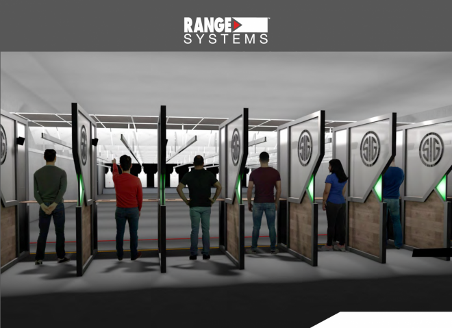 Range Systems has announced that they will be outfitting SIG SAUER's new Experience Center in Epping, NH.