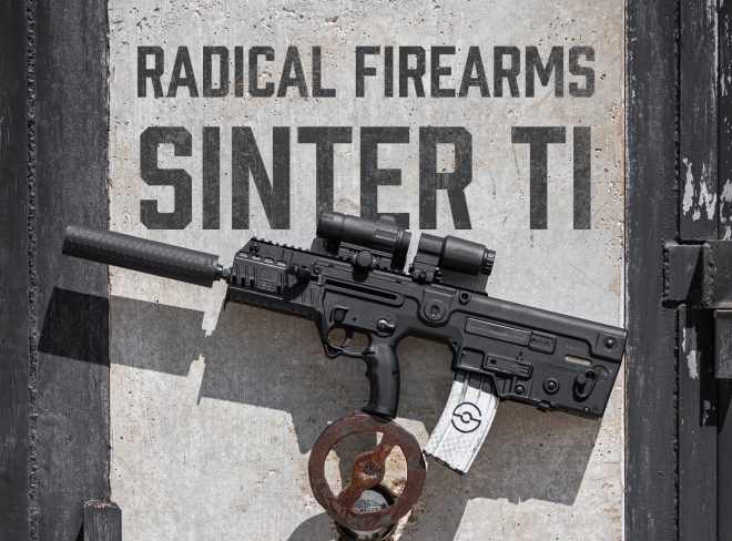 Radical Firearms has released a new 3D-printed titanium suppressor, the Sinter, now available through Silencer Shop and other NFA dealers.