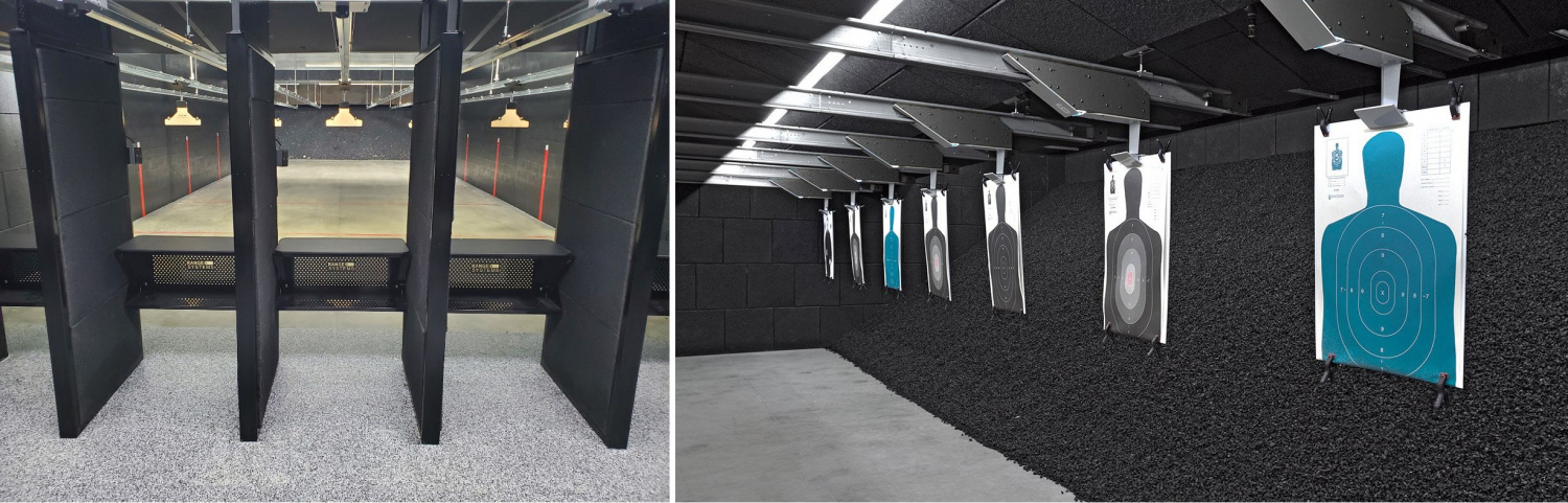 Visitors to the SIG SAUER Experience Center will be able to enjoy a 30-lane indoor shooting facility designed and installed by Range Systems.