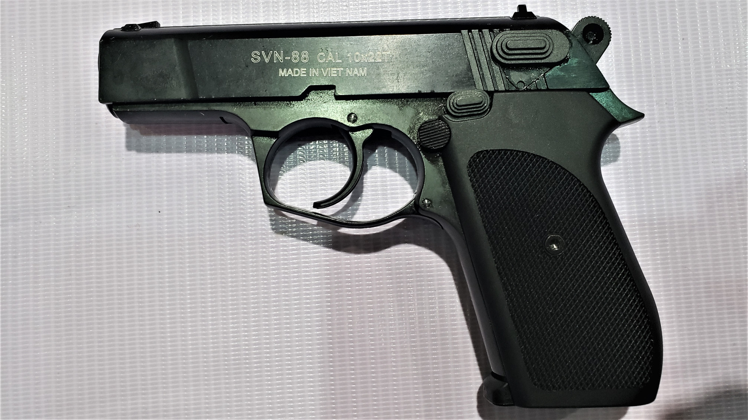 """Apart from Russia, Vietnam seems to be the only country developing and producing """"traumatic"""" handguns"""