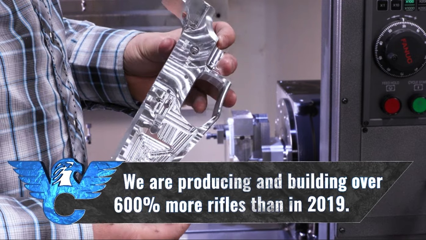 The AR section of their product catalogue spans a wide spectrum of calibers, from the standards like 5.56 NATO and .308 Winchester to more niche chamberings like 300 HAM'R and 7mm-08 Remington.