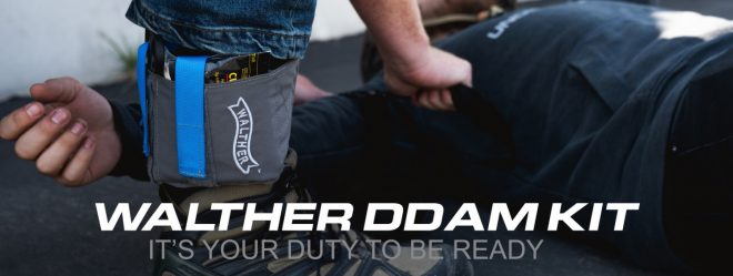 Walther Arms has released their DDAM Kit, an ankle carry rig for EDC medical gear.