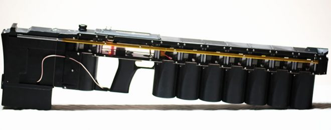 Arcflash Labs Introduces the GR-1 ANVIL Handheld Gauss Rifle
