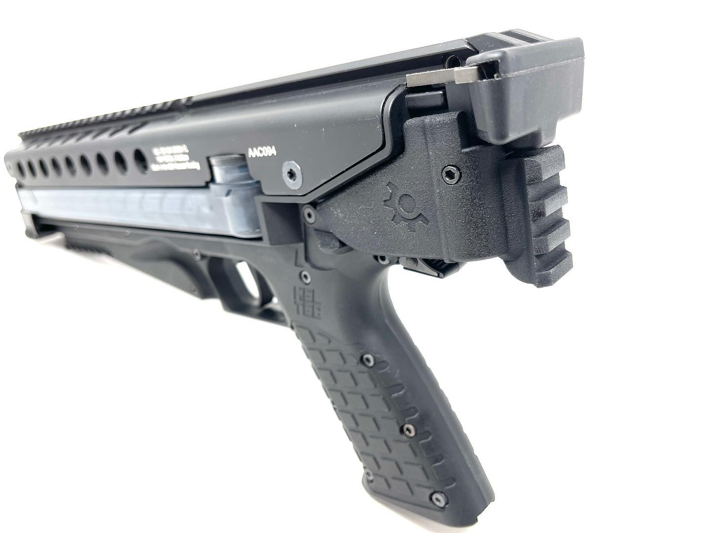 New CSM P50 Pic Rail for the KelTec P50 from Custom Smith MFG
