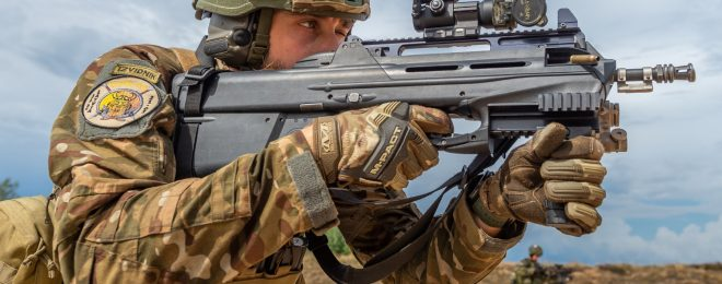 POTD: Slovenian Armed Forces with FN F2000 Rifles