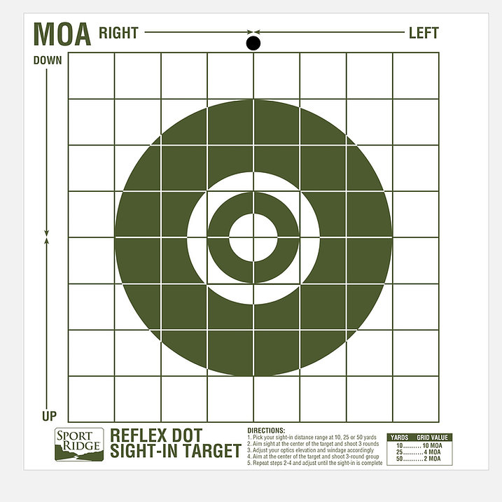 New Premium Precision Sight-In Targets From Sport Ridge