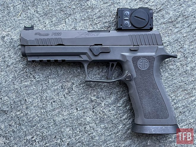 Aimpoint Acro P-2 sig sauer pistol red dot