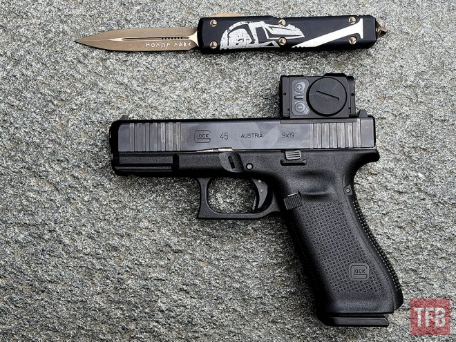 Aimpoint Acro P-2 with Glock