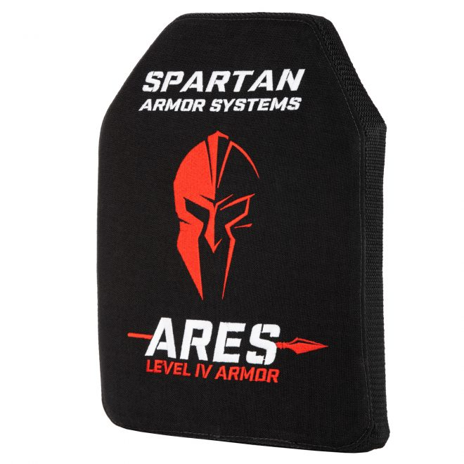 """Spartan Armor Systems introduces their new Ares level IV ceramic plate, purported to be the """"toughest and lightest"""" they've ever offered."""