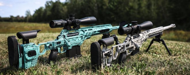 POTD: Battle Worn Painted Cadex Defence Chassis