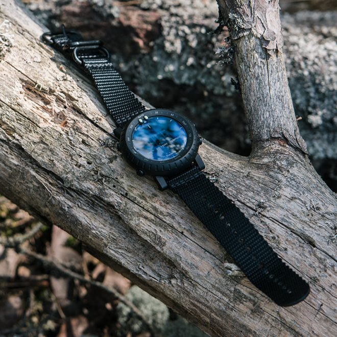 New Night Vision Capable Suunto Core Alpha Stealth Military Inspired Watch