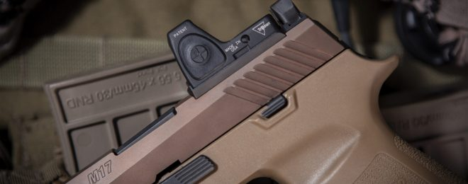 New TangoDown RMR Mount for the SIG P320 Line of Pistols - SSM-03