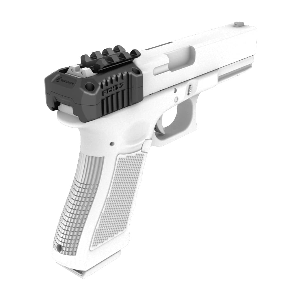 Recover Tactical PCH Slide Picatinny Rail with Charging Handle (16)