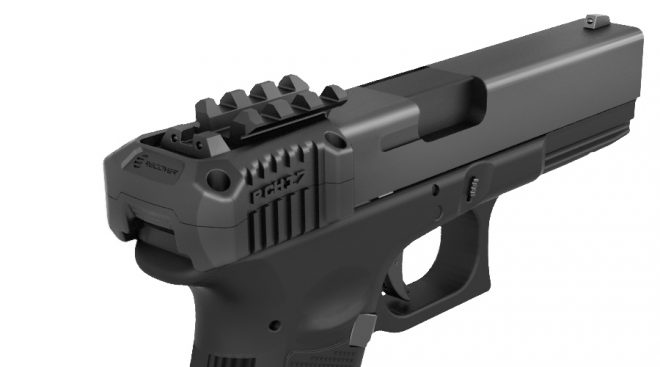 Recover Tactical PCH Slide Picatinny Rail with Charging Handle (8)