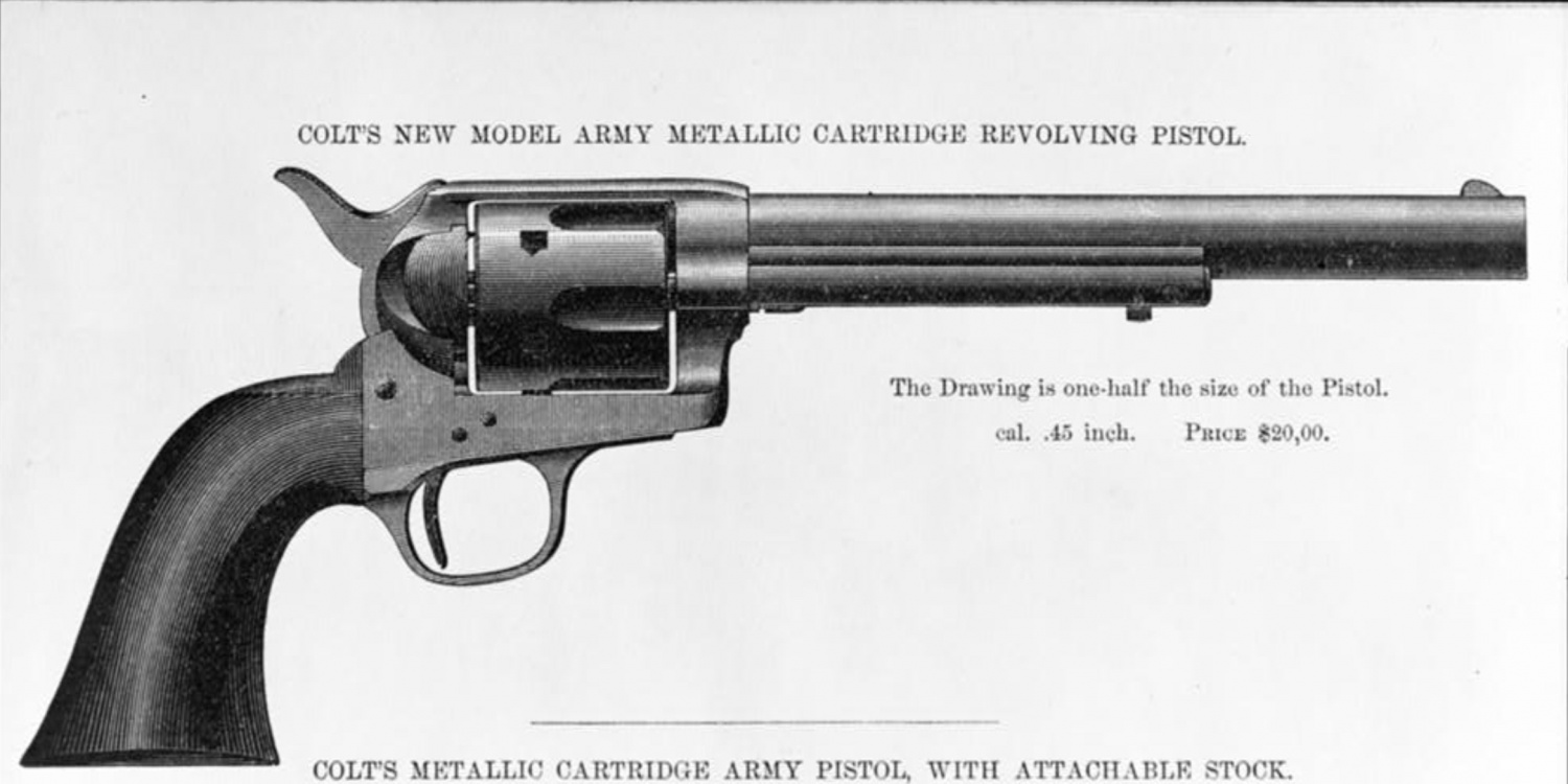 Colt's 1878 Catalogue Image Credit: Library of Congress