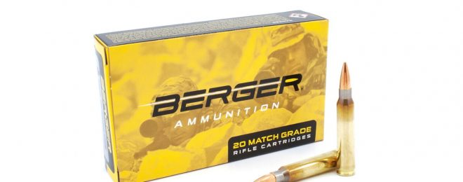 Berger has issued a safety recall for a small number of boxes of their 77-grain .223 ammunition.