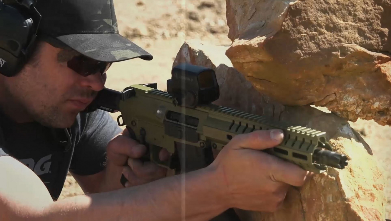"""The all New 10.5"""" Banshee 300 Mk4 5.56mm Pistol from CMMG"""