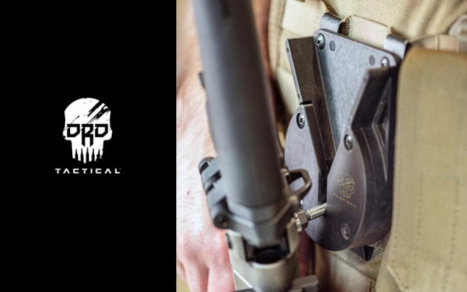 DRD Tactical introduces their new ARES retention system, shown here, as well as two new selector switches.