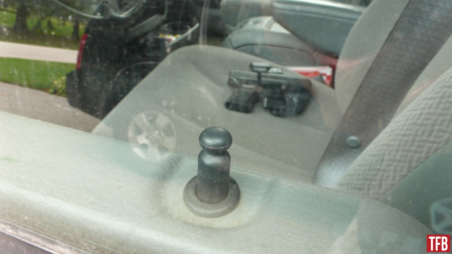 gun thefts from vehicles: lock your cars