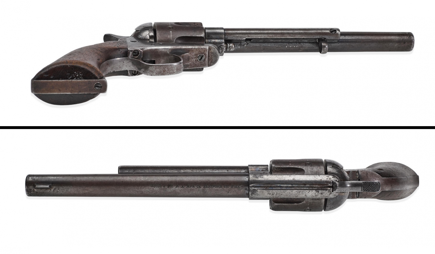 Although the coroner's report officially stated that Ringo killed himself with this Colt SAA, rumors persist that he may have been gunned down by someone else - possibly known adversaries Wyatt Earp or Doc Holliday.