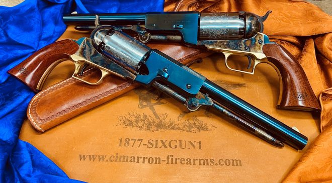 """Cimarron Firearms introduces their new """"Lonesome Dove"""" Colt Walker tribute revolvers."""