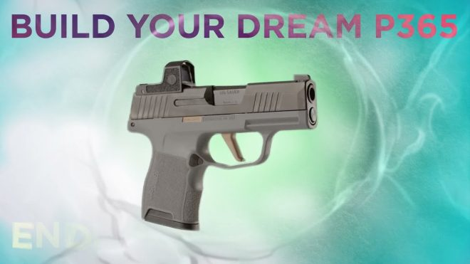 Build Your Dream P365 With the SIG Custom Works P365 FCU