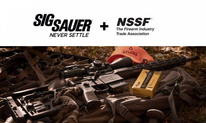 SIG SAUER has announced their support of the NSSF's +ONE initiative for National Shooting Sports Month 2021 in August.