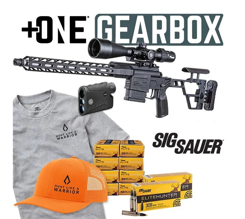 SIG SAUER is partnering with NSSF by providing this prize package in a National Shooting Sports Month giveaway for August 2021.