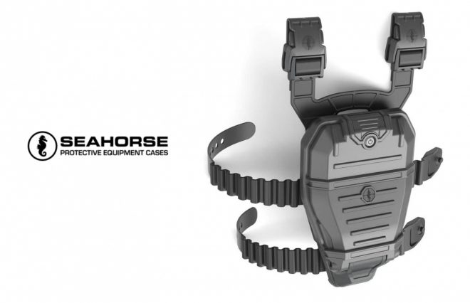 Meet the P17 waterproof holster from Seahorse Protective Cases.