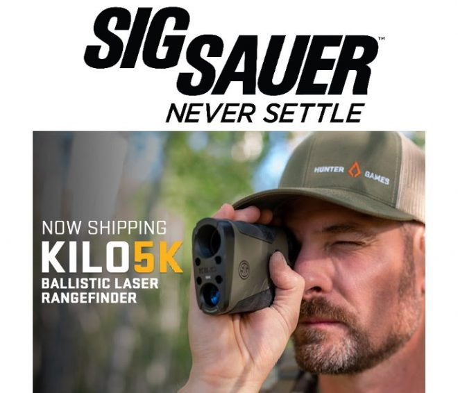 SIG SAUER Electro-Optics has announced a new series of rangefinders with the release of their new KILO5K monocular.