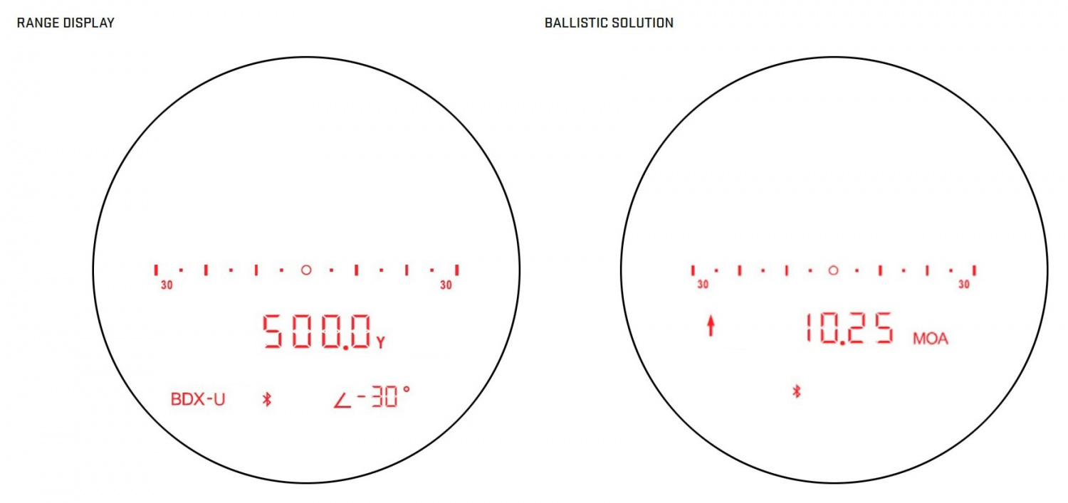 Use the KILO5K as a straight rangefinder, or leverage Applied Ballistics' Ultralite and SIG's BDX technologies to help you make ballistic calculations.