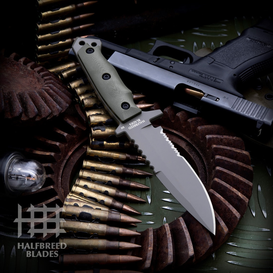 Halfbreed Blades Introduces the MIK-03 Medium Infantry Knife