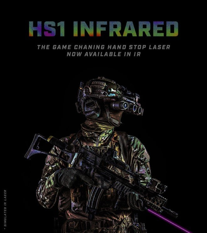 Viridian Weapon Tech Adds New HS1 Infrared Hand Stop Laser to Lineup