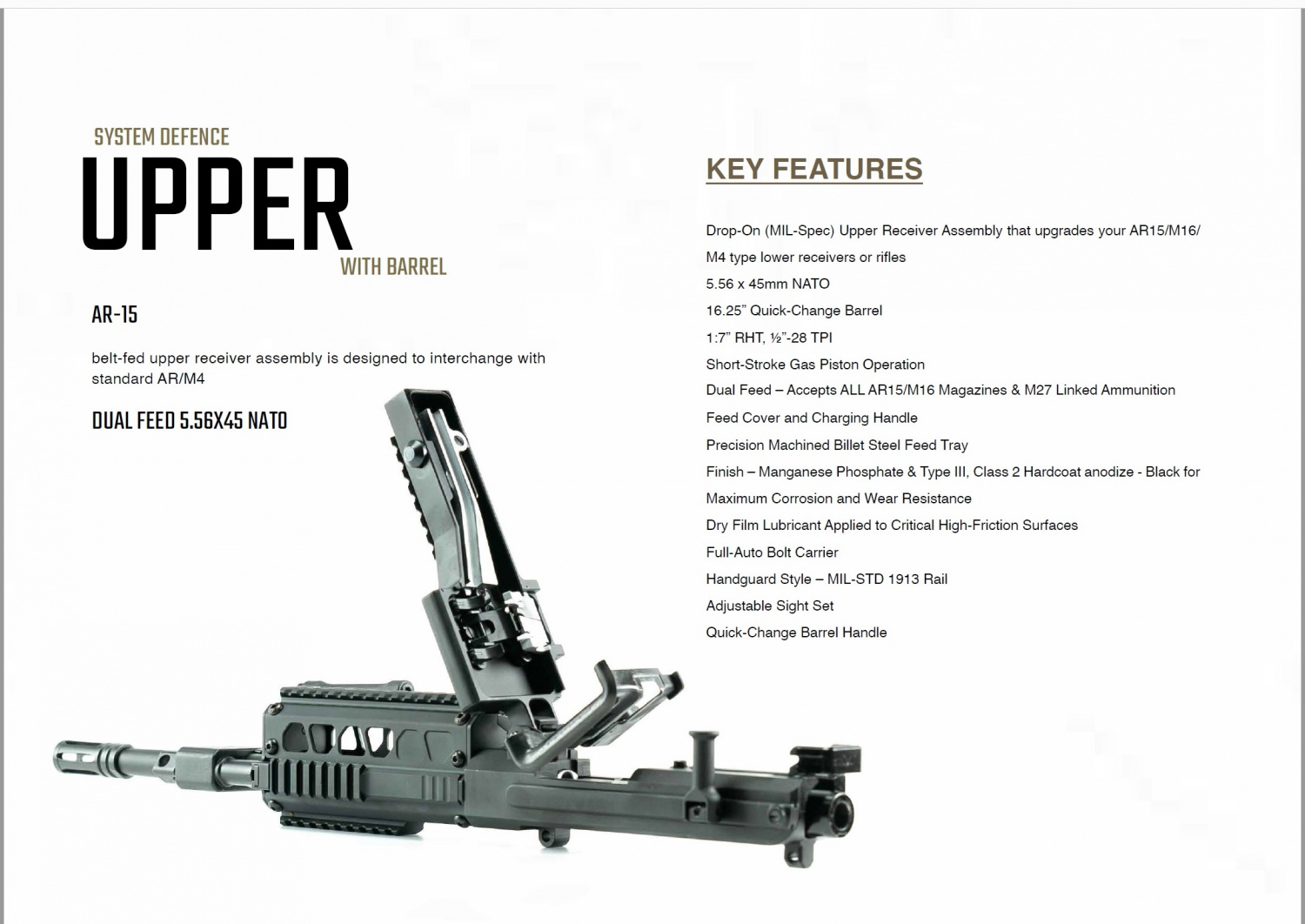 Upper in the System Defence catalogue
