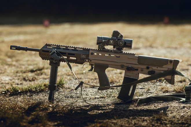 Welsh Guards Armoury Upgrade - Heckler & Koch SA80 A3