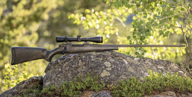 Weatherby's New Carbon Fiber Backcountry 2.0 Rifle