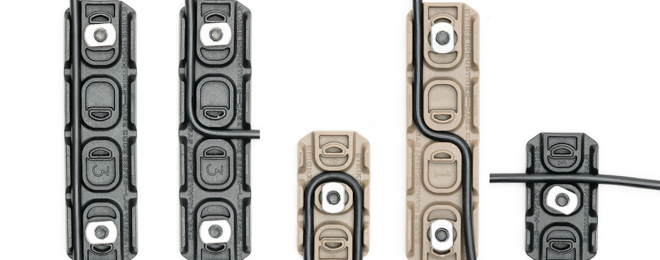 NEW Strike Industries Long & Short M-LOK Cable Management Covers
