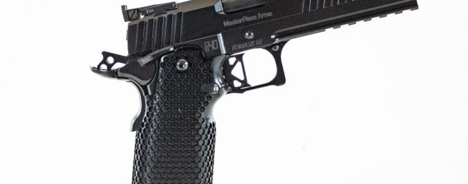 MasterPiece Arms Releases MPA DS40 Travis Tomasie Competition Pistol