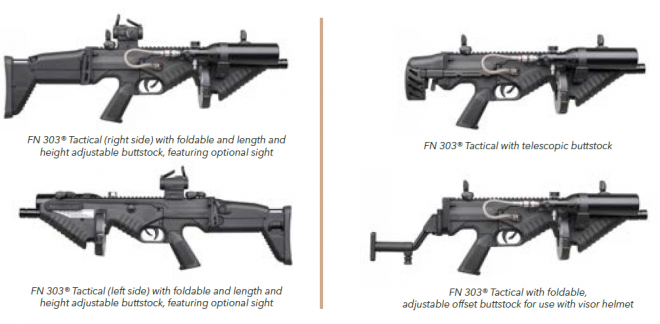 New FN Herstal FN 303 TACTICAL Compact Less Lethal Launcher