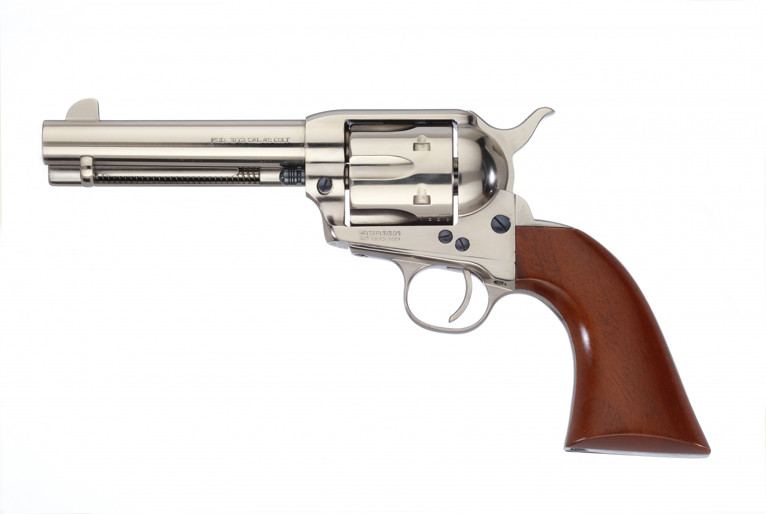 Taylor's & Company Introduces the Gunfighter Nickel Revolver