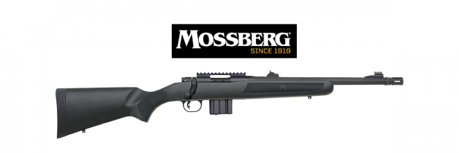 Mossberg introduces a new caliber, .300 Blackout, to their MVP Patrol bolt-action rifle lineup.