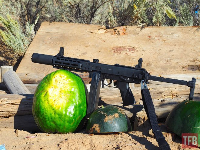 KH9SD Ready to ventilate melons with the Suomi magazines