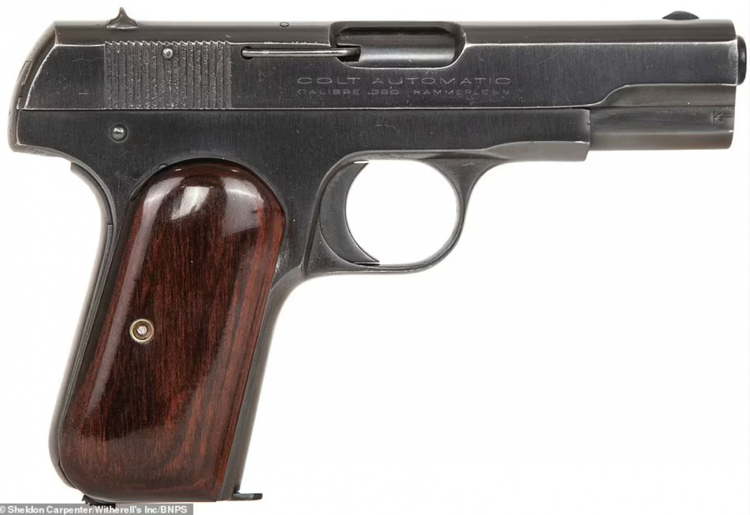 Sweetheart Colt 1911 of Al Capone's Sells for 3.1 Million