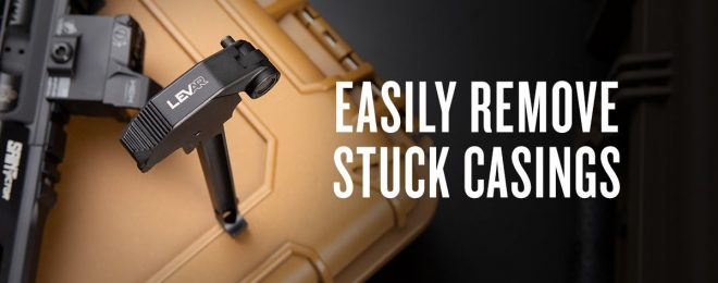 The New LevAR Ratcheting Charging Handle from Springfield Armory